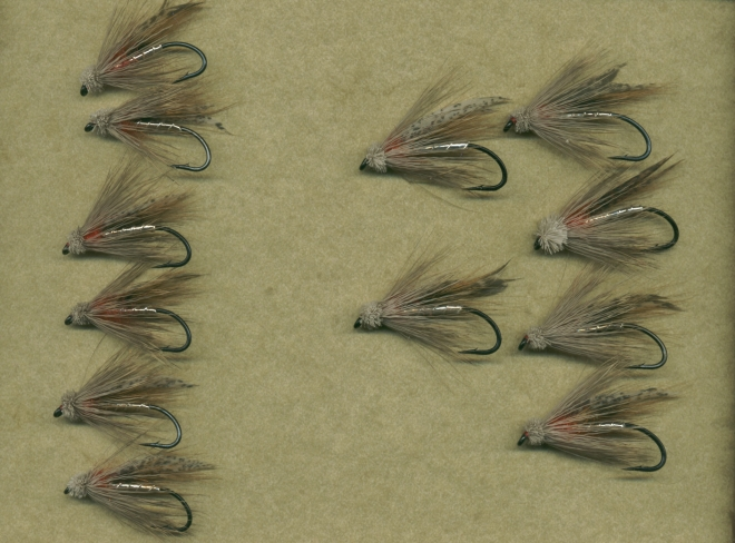 Two sizes of the Steelhead Muddler