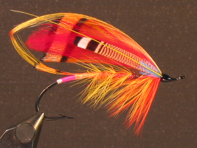 The classic Orange Parson tied by Neil Selbicky