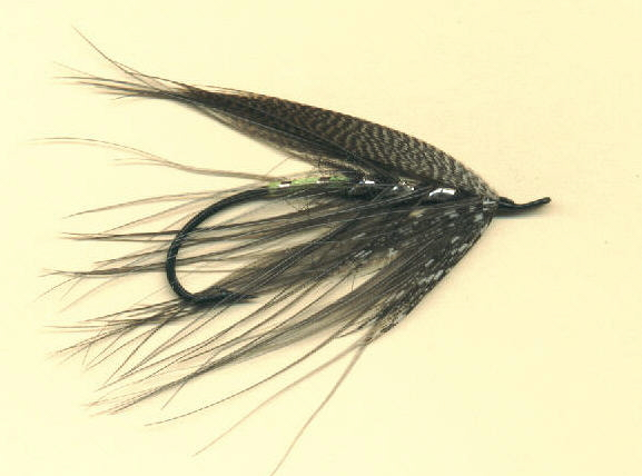 The Gray Heron as it comes from the vise before it is fished!