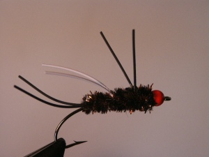The orange egghead Brownbagger is the pattern to use now on the upper Rogue River.