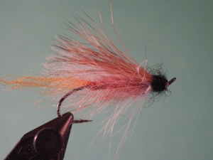 "My Steelhead Caddis Emerger. Fish this ""wisp"" of a fly just like you would a Steelhead Caddis."