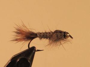 The Gold Ribbed Hare's Ear nymph is a good dropper fly.