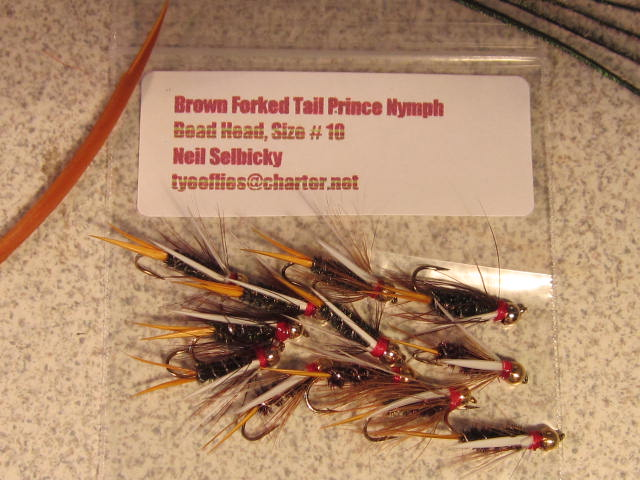 Brown Forked Tail Prince Nymphs