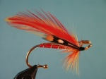 An old pattern from the Penobscot River region of Maine. Originally intended for trout and landlocked salmon, the fly was found to be good for smallmouth and largemouth bass as well. Perhaps steelhead would fall for this fly too?