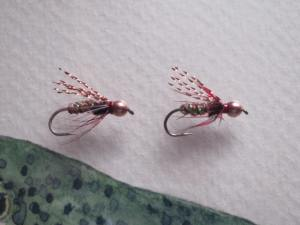 Micro light luminations make this an effective fly for summer steelhead.