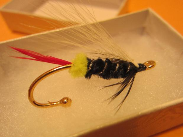 Classic Steelhead Fly Brooch